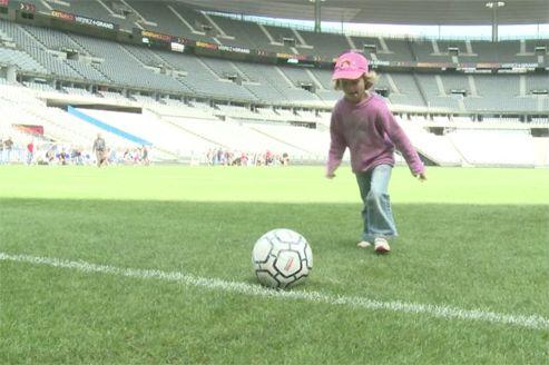 Il y a un an : la pelouse du Stade de France s'ouvre à tous