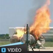 Un véhicule de la Nasa s'écrase en un vol test