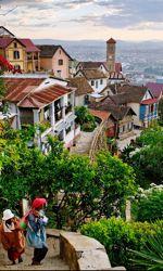 Vue sur Tananarive et le quartier historique.