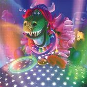 Pixar: les images de Partysaurus Rex