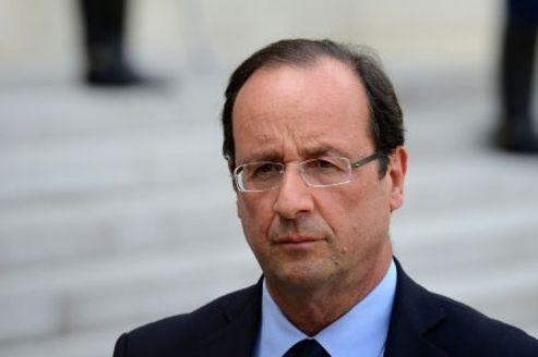 Près de 57% des sondés estiment que François Hollande tient les engagements qu'il a pris pendant la campagne présidentielle. Crédits photo: Abaca.