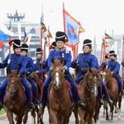 Ces cosaques à la poursuite de Napoléon