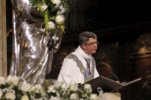 Messe de l'Assomption à Notre-Dame-de-Paris, mercredi.