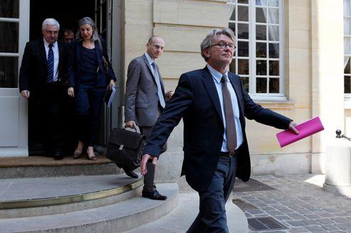 Jean-Claude Mailly à Matignon, en mai 2012.