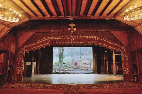 Bussang : un théâtre en forêt