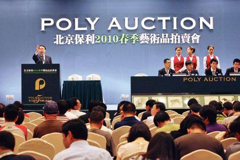 Poly, la Chine à l'assaut du marché de l'art