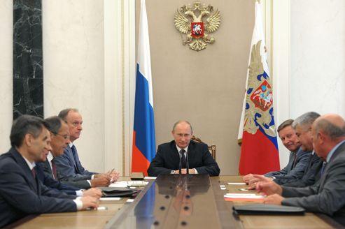 Vladimir Poutine au Kremlin, vendredi.