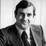 Patrick Ricard en 1979, quatre ans après la fusion avec Pernod, menée par lui et son père.