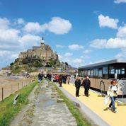 Le Mont-Saint-Michel passe un mauvais été