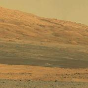 Mars : Curiosity fait ses premiers tours de roue