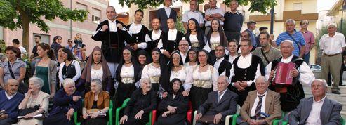 La famille la plus âgée du monde vit en Sardaigne