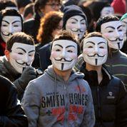 Des Anonymous français verbalisés