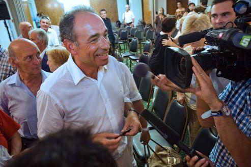 Jean-François Copé, le 18 août à Ajaccio.