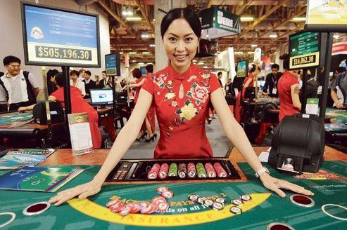 Macao, table de jeu de toute la Chine