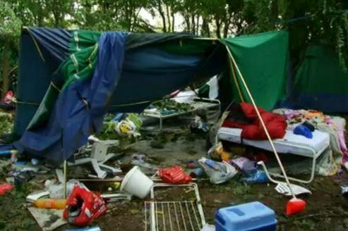 Il y a un an : une tornade ravage un camping de l'Isère