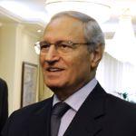 Farouk al-Chareh est apparu à l'occasion d'une visite de dignitaires iraniens.
