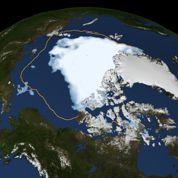 Fonte record de la banquise arctique