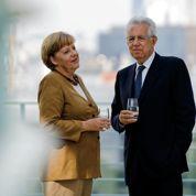 Merkel conciliante avec Monti