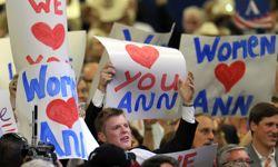 Les militants républicains avaient préparé la venue d'Ann Romney.