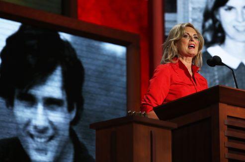 «Donnez-lui une chance, donnez cette chance à l'Amérique», a demandé Ann Romney.