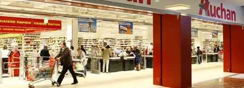 Les hypermarchés Auchan résistent bien en France