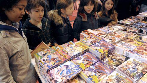 Les mangas intéressent aussi la jeune génération qui n'a pas connu le Club Dorothée.