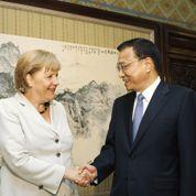 Pékin promet à Merkel de soutenir la zone euro