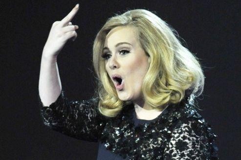 Adele quitte la tête des charts américains