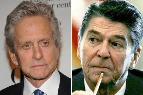 Michael Douglas prêt à incarner Ronald Reagan