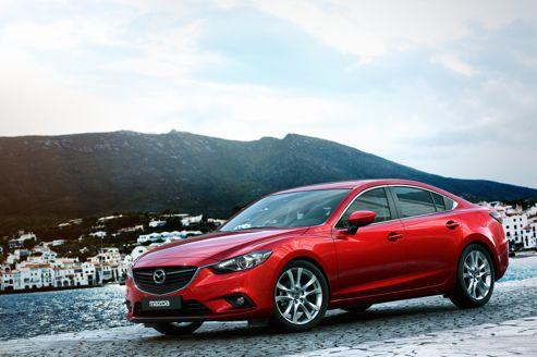 La Mazda6 s'invite à Moscou