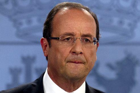 François Hollande à Madrid, le 30 août.