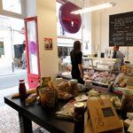 L'Épicerie du Verre Volé offre de bons produits à emporter autant que de délicieux sandwichs.