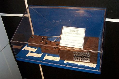 La «Brown Box», premier prototype de ce qui allait devenir la Magnavox Odyssey.