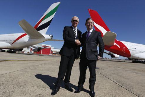 Emirates s'allie à Qantas pour accélérer son développement