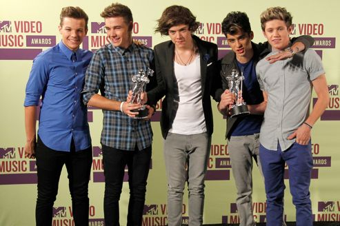 MTV Video Awards 2012 : One Direction grand gagnant