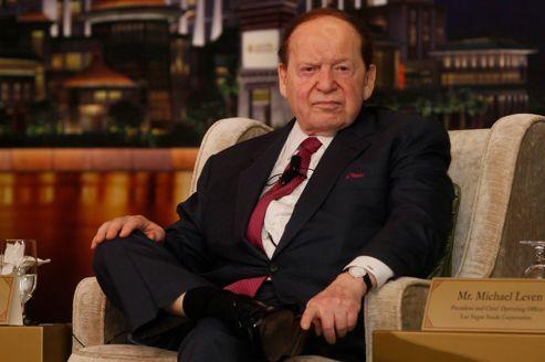 Sheldon Adelson a amassé une fortune estimée à 20milliards de dollars, dans les casinos (ici à Macao, en avril).