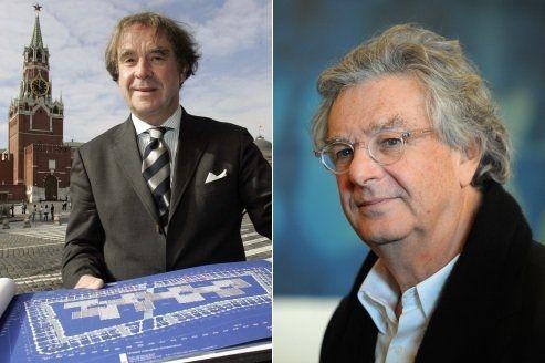 Deux architectes français pour repenser Moscou