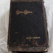 La Bible d'Elvis aux enchères