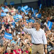 «L'effet convention» profite àBarack Obama