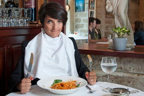 À table avec Florence Foresti