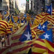 Marée humaine à Barcelone
