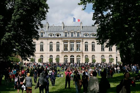 Les jardins de l'Élysée ouverts au public une fois par mois