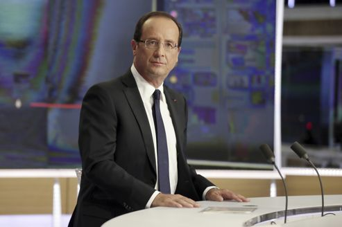 François Hollande après son intervention sur TF1 dimanche dernier.