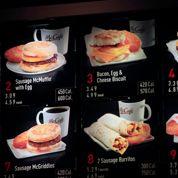 McDonald's compte les calories