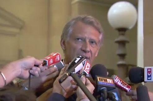 Il y a un an : Villepin relaxé dans l'affaire Clearstream