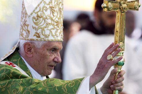 Le Pape, ce dimanche, à Beyrouth.