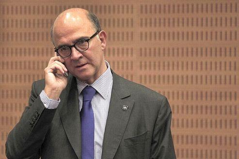 Le ministre de l'Économie et des Finances, Pierre Moscovici.