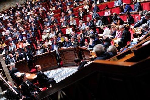 Séance à l'Assemblée nationale en juillet dernier.