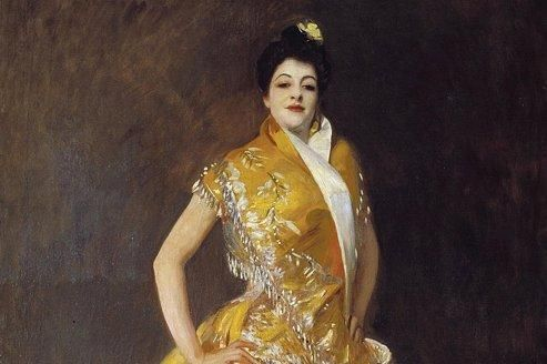 <i>La Carmencita,</i> vers 1890, de John Singer Sargent.