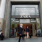 La maison-mère de Zara grimpe à l'international